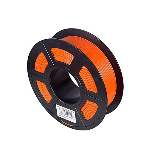 UUUFA - Filamento in TPU PLA, 1,75 mm, 1 kg, materiale di stampa 3D, per stampante 3D, penna 3D, in plastica, PLA, filamento 3D, colore: arancione