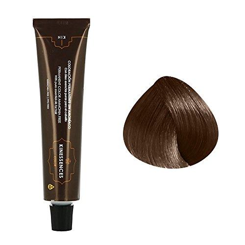 Coloration permanente sans ammoniaque aux 5 huiles 7.50 : Blond Moyen Brun Chocolat Kin Cosmetics