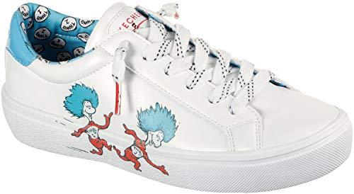 Skechers Mujer 155324-WBLR_39,5 - Zapatillas Deportivas para Mujer, Color Blanco, 39,5 EU