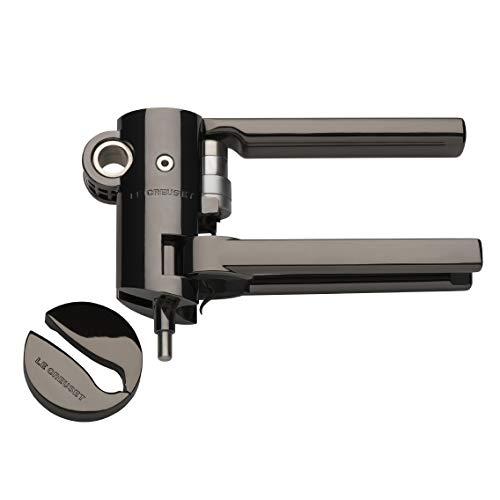 Le Creuset Advanced Lever Corkscrew Set and Foilcutter, Black Nickel