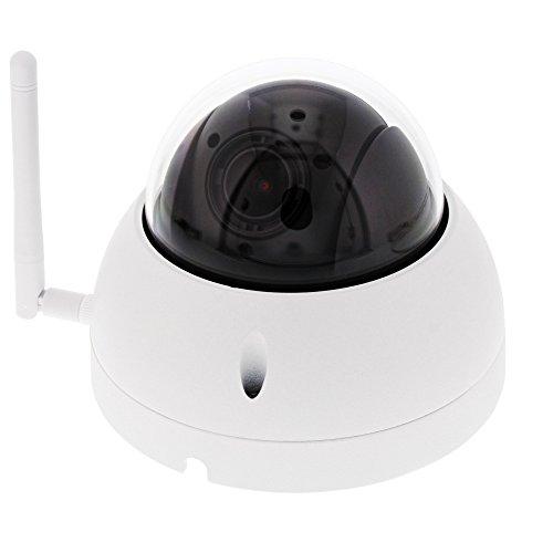 BURG-WÄCHTER Überwachungskamera mit Weitwinkel-Zoomobjektiv, BURGcam Zoom 3060, Weiß