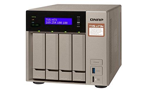 Preisvergleich Produktbild Qnap TVS-473e-4G 4-Bay 16TB Bundle mit 4X 4TB Gold WD4002FYYZ