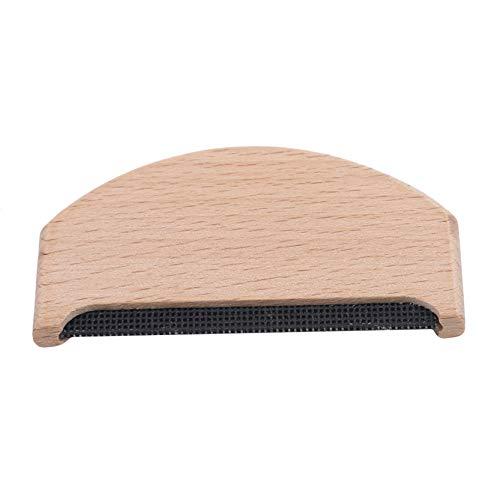 EMFGJ Peine de tela recortadora de madera suéter afeitadora tela quitapelusas portátil ropa cepillo herramienta manual fácil de usar