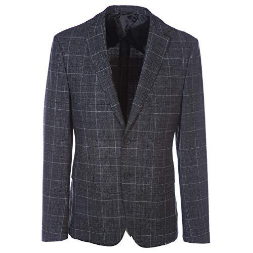 Hugo BOSS Nobis Jacket in Grey Check