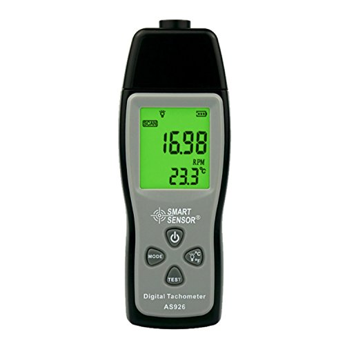 Drehzahlmesser Digital laser photo Tachometer Tacho photoelektrischen Tachometer 2,5~99999 RPM tester für Auto motor AS926