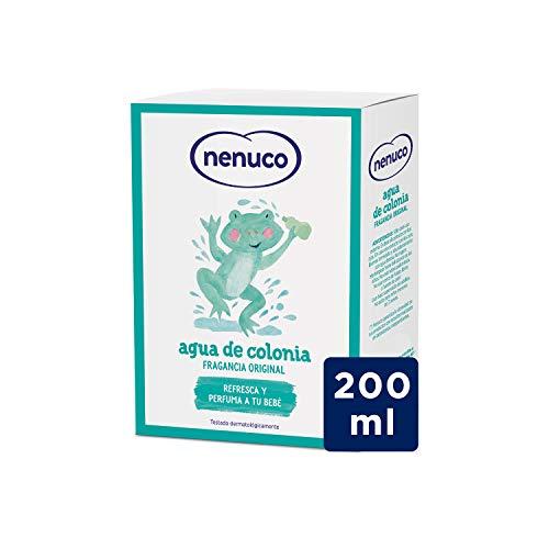 Nenuco Agua de Colonia recomendado para bebés, fragancia or
