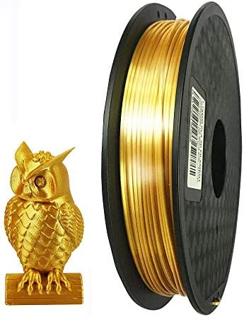 Silk Gold PLA Filament 1 75mm 3D Printer Filament 0 5kg Silky Shiny Shine PLA Material 500g product image