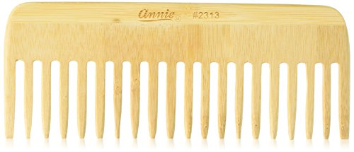 Annie Bamboo Volume Comb, 7 Inch