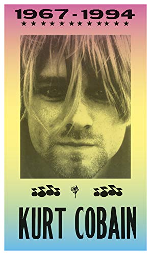 "Per Diem Printing RIP Kurt Cobain of Nirvana 1967 – 1994-13""x22"" Vintage Style Showprint Poster - Home Nostalgia Decor – Wall Art Print - Concert Bill"