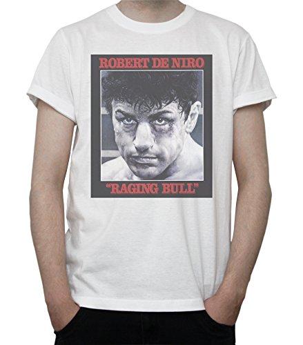 DreamGirl Raging Bull Movie Poster Mens T-Shirt X-Large