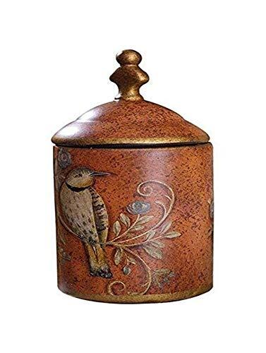 Urna para Cenizas La Cremación Urna Conmemorativa Capacidad De La Cisterna De Cerámica Hecha A Mano Pequeña Capacidad For Adultos Y Mascotas Cenizas Urna TZXSHO (Size : Red)