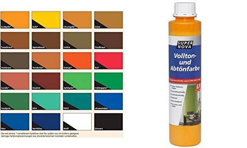 """SUPER NOVA 20001033000110 Vollton-und ABT""""nfarbe, Ocker, 750 ml"""