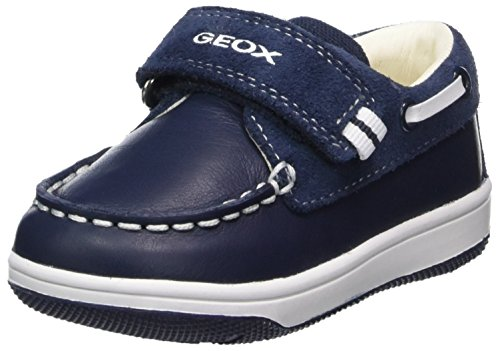 Geox B New Flick A, Mocasines Bebés, Azul Navy, 24