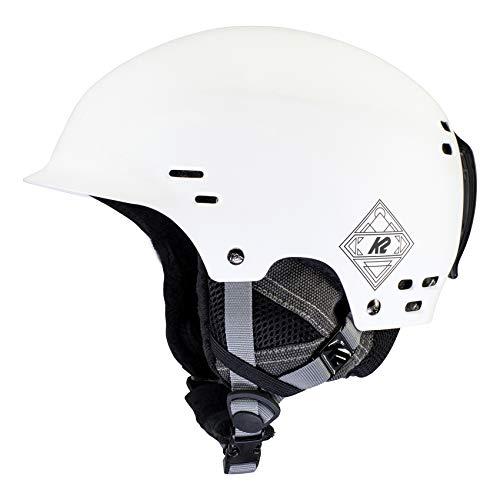 K2 Ski Unisex– Erwachsene Thrive Skihelm, White, L/XL (59-62cm)