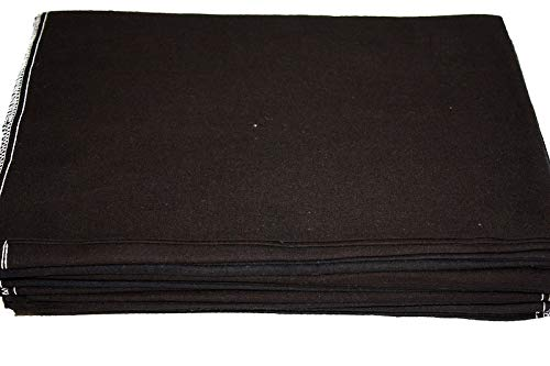 Auto Fender Cover and Seat Protector, Red 4-Pieces, Eco-friendly 100% Soft Natural Cotton, protects auto surfaces, car interiors, seats, ideal for mechanic shop, garages, body shops, DIY projects