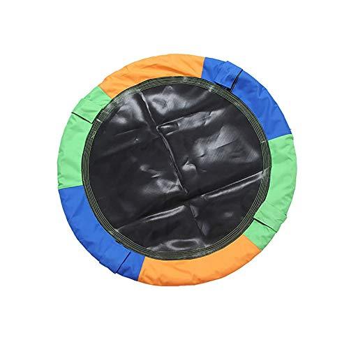 Balançoires YXX Hauteur Ajustable Ronde Saucer Arbre Capacité maximale 150 kg, diamètre 100 cm, Cadeaux d'anniversaire pour Jeux pour Enfants