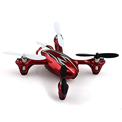 Hubsan X4 H107C 2.4G 4CH RC Quadcopter With Camera RTF (White/red)