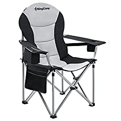 Deluxe Tall Man's Camping Chair