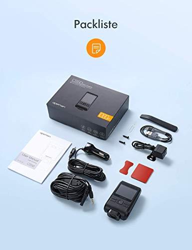 Apeman Dashcam Dual Lens Full HD 1080P Front- und Back-Kamera - 8