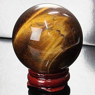 【一点物 47mm玉】 タイガーアイ 丸玉 水晶玉 球体 丸玉 玉 球 原石 Ball 大玉 tigereye 虎目石 魔除け 置物 浄化用 お守り 一点物 天然石 パワーストーン a20391
