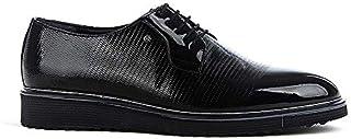 Tamboğa P-605 Erkek Rugan Klasik Ayakkabı