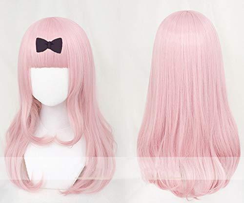 GHK Chika Fujiwara Pink Wig Cosplay Kaguya-sama: Love is War Kaguya-sama wa Kokurasetai: Tensai-tachi no Renai Zunousen Cosplay Wig
