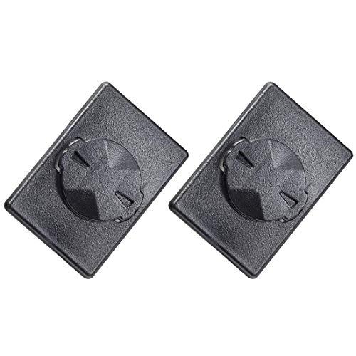 Dymoece 2 Stück Telefon Fahrrad Halterung Adapter kompatibel mit Garmin Edge