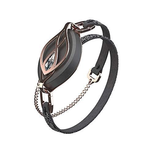 Bellabeat Leaf Crystal Smart Health Tracker mit Swarovski Kristall Schmuck Armband (Bundle Pack) - Rosegold
