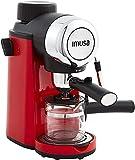 IMUSA USA 4 Cup Epic Electric Espresso/Cappuccino Maker, Red 800 Watts