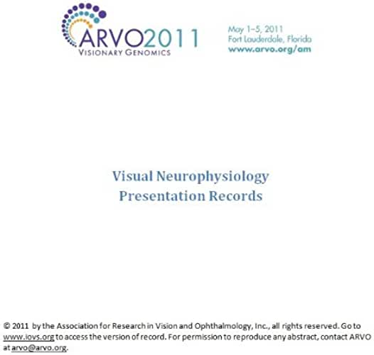 ARVO 2011 Annual Meeting - Section VN (English Edition)