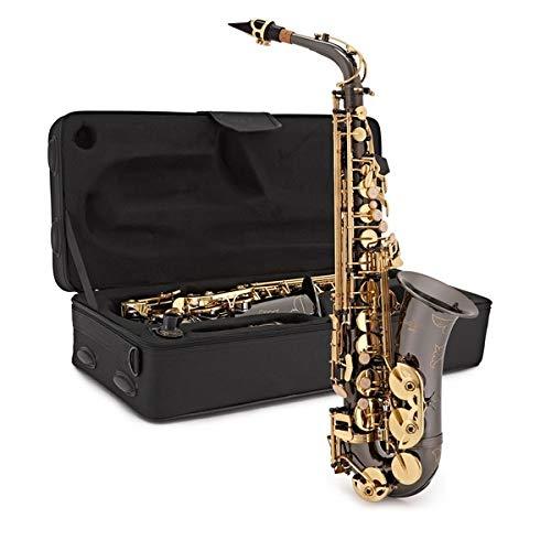 Saxofón Alto de Gear4music Negro y Dorado