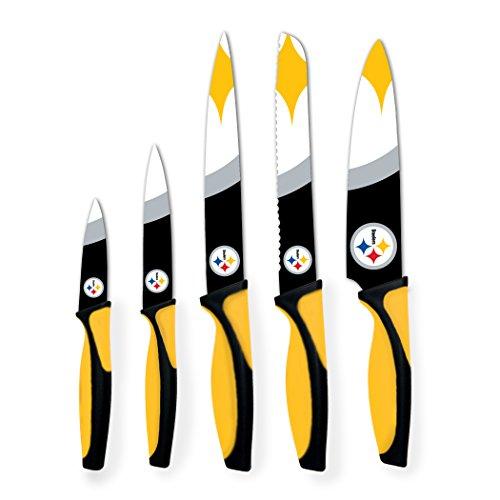sportsvault NFL Pittsburgh Steelers Kitchen Knives