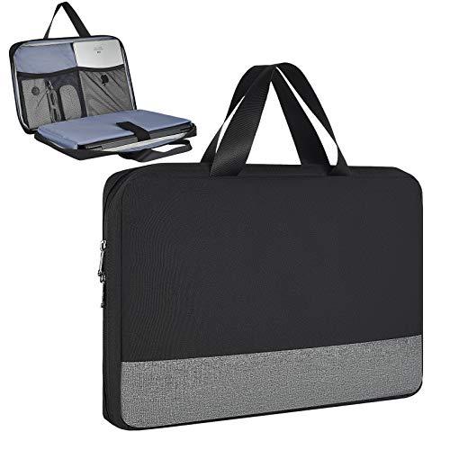 Schutzhülle für Samsung Chromebook 4 3 / Chromebook Plus V2 12.2, Lenovo Chromebook C340 C330 / Flex 11, Asus Chromebook VivoBook, 29,6 cm (11,6 Zoll), Schwarz
