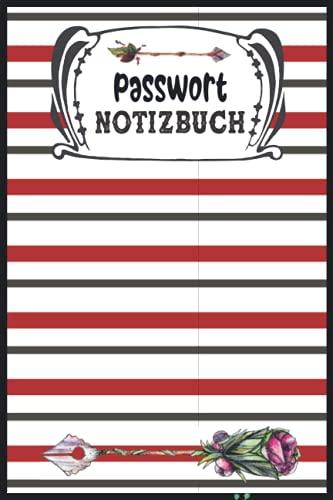 Passwort Notizbuch Klein: Passwort Buch Mit Register ABC Internet Code Organizer | A-Z Alphabetisches Klein Logbuch A5 (Deutsch Passwörter Verwalten)