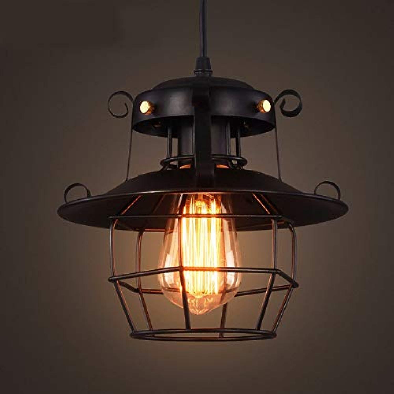 FuweiEncore Pendelleuchte Home Industrial Air Iron Art Loft 23Cm Chandelier