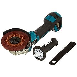 Makita Akku Winkelschleifer (Schleifscheiben-ø 125 mm, automatische Drehzahlregelung, LED-Lampe, Spannung 18V, ohne Akku) DGA504Z