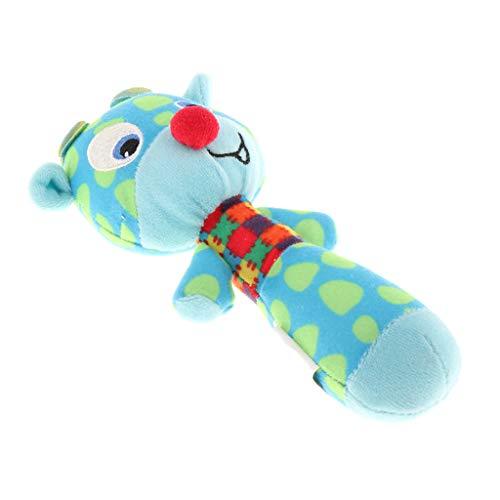 CUTICATE Babyspielzeug Plüschtier Rasseln Greiflinge Babyrasseln Hand Rassel Entwicklung Spielzeug Geschenk zum Geburtstag oder zur Taufe - #1