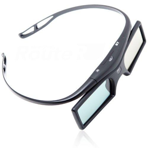 『Bluetooth互換 アクティブシャッター方式 3Dメガネ ボタン電池 RV-3DGBT2B』の1枚目の画像