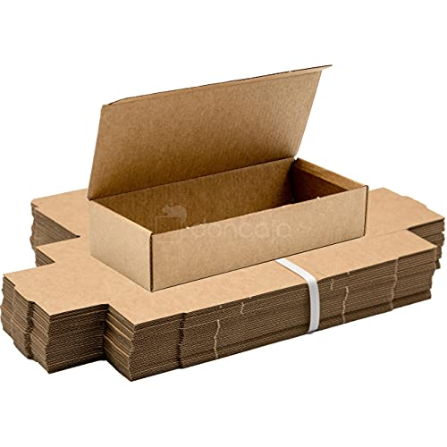 Pack 25 cajas | cartón pequeñas, para envíos ecommerce automontables...