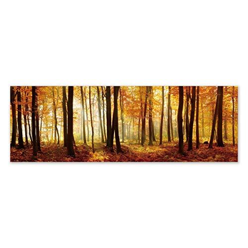 Cuadro Lienzo cabecero Naranja provenzal para Dormitorio de 180 x 60 cm France - LOLAhome