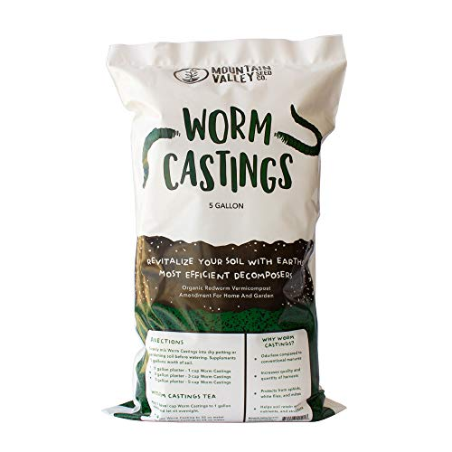 Mountain Valley Seed Company Organic Worm Castings