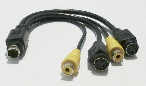 AWM VIVO kabel 2x S-video/S-VHS op 9-pins aansluiting 6110018100 E119932-U