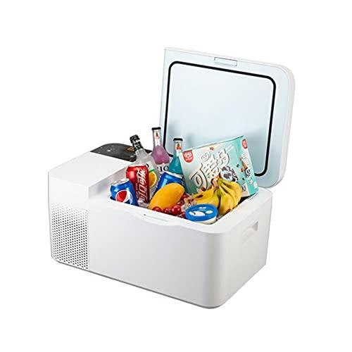 XIAOLIN 16l Compresor Coche Refrigerador Insulina Cosmética Leche Mueble Almacenamiento Frío Congelación Mini Congelador 12v / 24v Capa Casa 220v