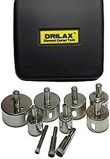 Diamond Drill Bit Hole Saw Set, DRILAX
