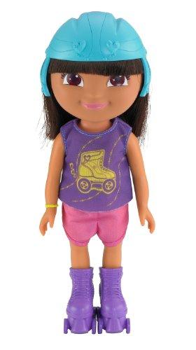 Fisher-Price – Dora and Friends – Dora en Rollers – Poupée 20 cm