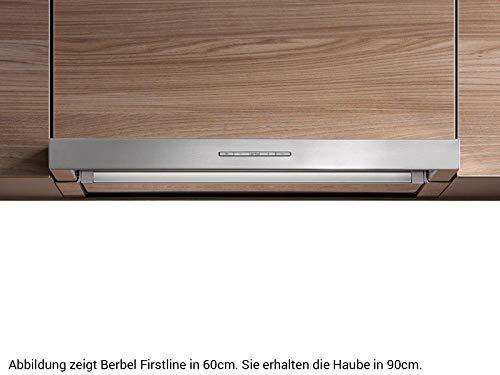 Berbel Firstline BEH 90 FL Einbauhaube Edelstahl Dunstabzug Abzugshaube 90cm