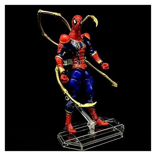 JJSCCMDZ Figuras de acción Hierro Spiderman araña Hombre articulado acción Figura Modelo Juguetes Modelo de muñeca (Color : No Retail Package)