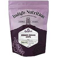 Indigo Herbs Chips de Plátano Orgánico 500g