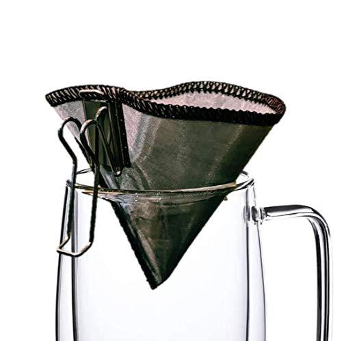 C& POCKET FILTER コーヒー フィルター ステンレス ドリッパー 折りたたみ キャンプ 釣り ドリップバッグ ステンレスなのに折りたためる 円錐 一人用