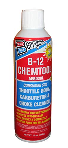 B-12 0110 Chemtool Carburetor, Choke and Throttle Body Cleaner Not VOC Compliant in Some States
